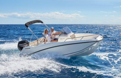 Rental Motorboat Quicksilver Activ 505 Open 4 Temps Mandelieu-La Napoule