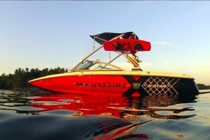 Rental Motorboat Mastercraft Xstar New Buffalo