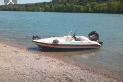 Charter Motorboat rebel 14 canyon 13 Villers-le-Lac