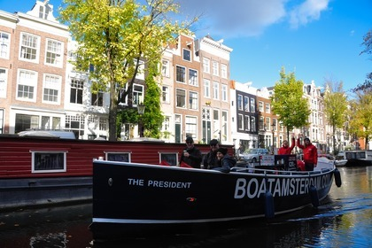 Verhuur Motorboot Custom Sloep The President Amsterdam