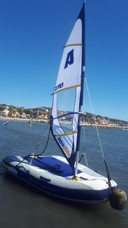 Charter Sailboat Aquaglide Dériveur Gonflable Multisport 270 Sanary-sur-Mer