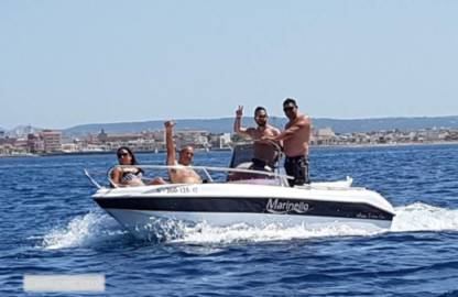 Rental Motorboat Marinello B460 'tresa' Without Licence Can Pastilla