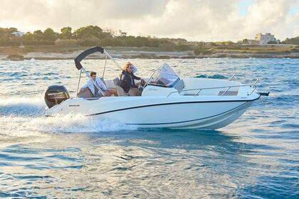 Hire Motorboat Quicksilver Activ 675 Open Rab