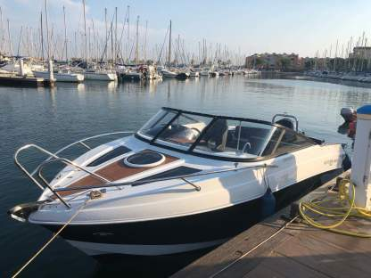 Miete Motorboot Sélection Boat Cruiser 22 Gruissan