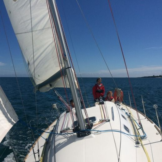 Sailboat BENETEAU FIRST 31.7 for hire
