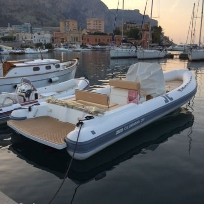 Location Semi-rigide Joker Boat Clubman 26 Palerme