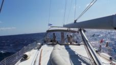 Charter sailboat in Chalkidiki