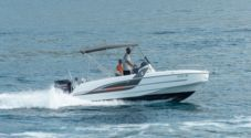 Charter motorboat in Trogir