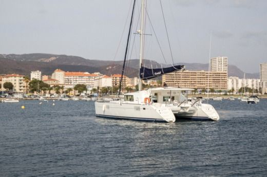 Location Catamaran Lagoon 440 Ajaccio
