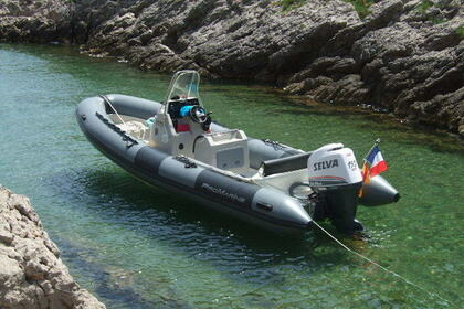 Location Semi-rigide PRO MARINE MANTA 680 Combrit