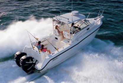 Miete Motorboot Boston Whaler Conquest 305 Marzamemi