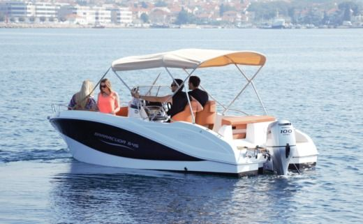 Okiboats Barracuda 545 in Zadar for rental