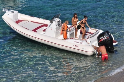 Rental RIB NUOVA JOLLY KING 740 Arbatax