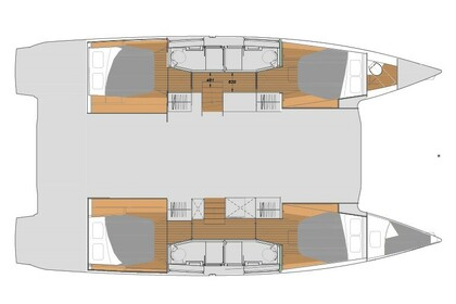 Rental Catamaran Fountaine Pajot Elba 45 Athens