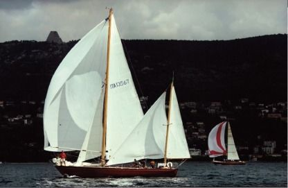 Rental Sailboat Alto Adriatico One Off Progetto N. 133 Carlo Sciarrelli Monfalcone
