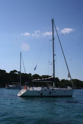 Charter sailboat in Vallauris peer-to-peer