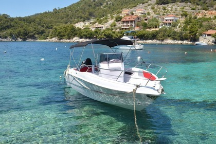 Rental Motorboat Blueline 21 Korčula