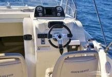 Motorboat Quicksilver 675 Activ Sundeck for hire