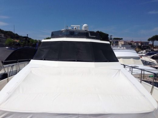 Charter Motorboat Canados 70 Bacoli