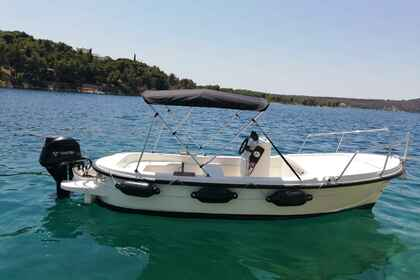 Hire Motorboat Betina 500 Open Milna