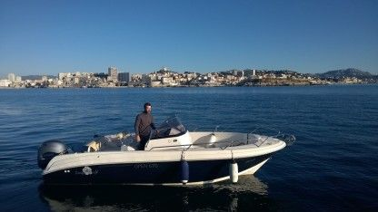 Rental Motorboat Pacific Craft Open 670 Marseille