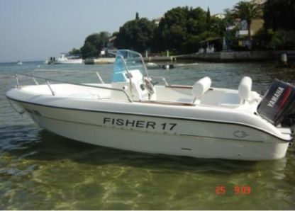 Charter Motorboat Fisher 17 Rab