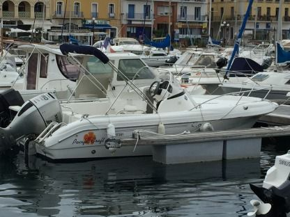 Miete Motorboot Pacific Craft Open 550 Port-Vendres