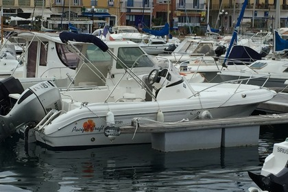 Hire Motorboat PACIFIC CRAFT OPEN 550 Port-Vendres