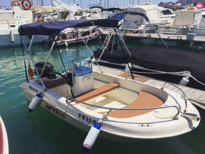 Rental Motorboat Astec 400 Alicante