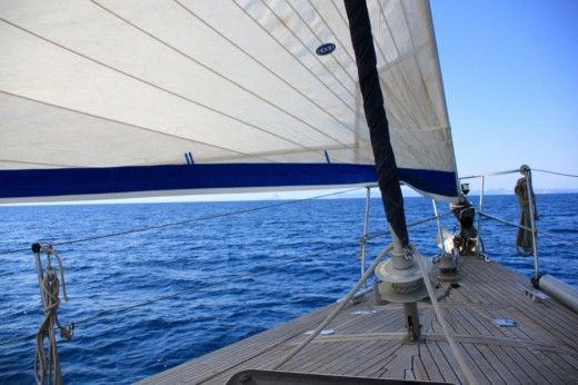 Sailboat Yachting Sorrento Vagabond 53