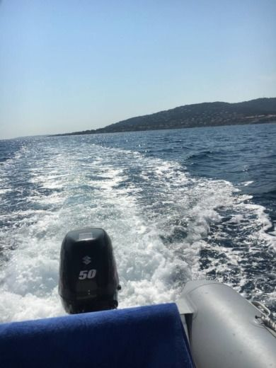 RIB Zodiac Bombard 500 Ribster for hire