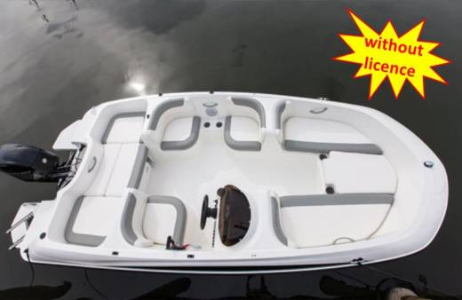 Bayliner Element E5 in Can Pastilla