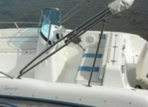 Charter motorboat in Rab