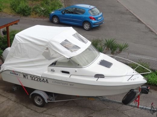 Sessa Marine Oyster 18 in Neuf-Brisach for hire