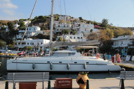 Fountaine Pajot Bahia 46 in Athens for hire