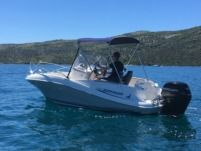 Motorboat Quicksilver 555 Commander
