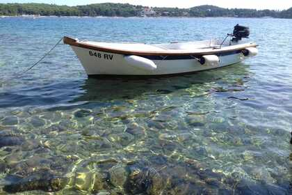 Rental Motorboat Traditional Built Wooden Pasara Rovinj