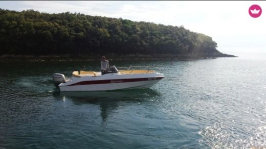 Motorboat Marinello 22 Eden for hire