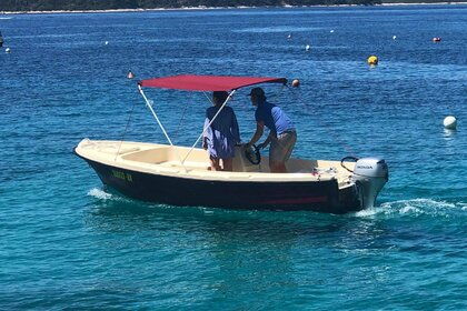 Hire Motorboat Adria 20 HP Hvar