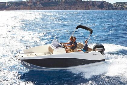 Miete Motorboot QUICKSILVER ACTIV 555 OPEN Verbania