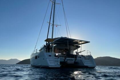 Location Catamaran Lagoon 400 Bastia