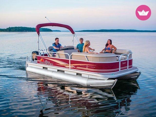 Beautiful Pontoon Available On Many Lakes