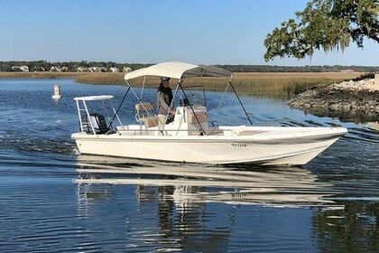 Rental Motorboat Sea Fox Bay Boat 22 Hilton Head Island