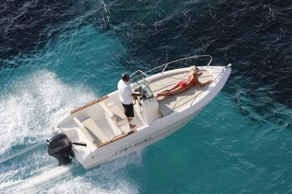 Rental Motorboat CAPELLI 520 Roses