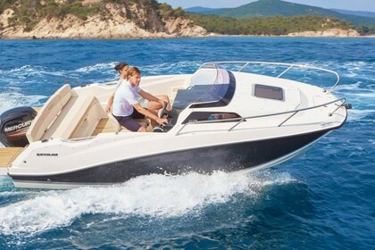 Rental Motorboat QUICKSILVER ACTIV 555 CABIN Nice