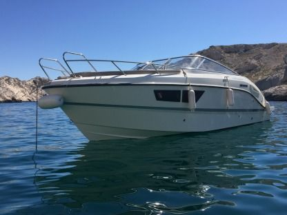 Charter Motorboat Quicksilver Activ Carry-le-Rouet
