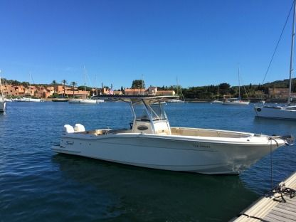 Rental Motorboat Scout Sport Fishing Porquerolles