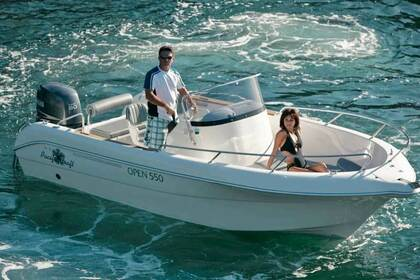 Charter Motorboat PACIFIC CRAFT OPEN 550 Guidel