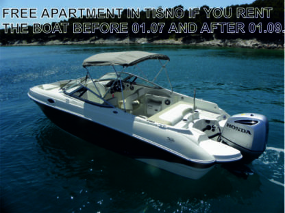 Charter Motorboat Stingray 234 Tisno