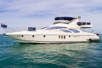 Charter Motorboat Azimut 62 Main Beach
